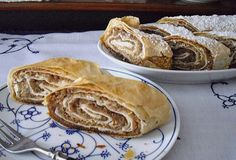 Nuss - Strudel, ein sehr schönes Rezept aus der Kategorie Kuchen. Bewertungen…