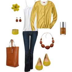 Earthy with a Twist, created by katiejeanne on Polyvore