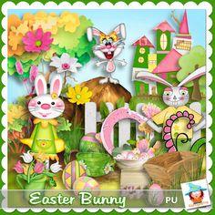 Easter Bunny by Kastagnette
