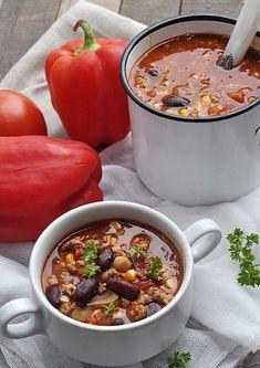 Zupa meksykańska z mięsem mielonym - Damsko-męskie spojrzenie na kuchnię