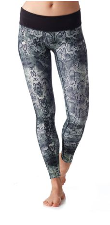 38ac577510c4e Classic Legging- Anaconda with Black Waist| PRISMSPORT | Fashionable Yoga  Tops, Pants &