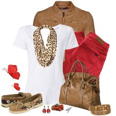 A fashion look from February 2013 featuring white shirt, leather jacket y skinny jeans. Browse and shop related looks.
