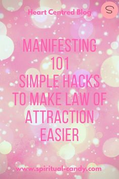 Fed up with complicated Law of Attraction systems? Start manifesting what you want today. Click through to Kat's video for 5 tips for quicker and easier manifestation