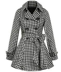 Well I am an Auburn fan but this coat is cute.  houndstooth