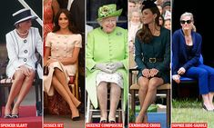 Royal etiquette: Do you adopt the Sussex Slant or the Cambridge Cross? Ettiquette For A Lady, Cambridge, Lady Rules, Beauty Spells, Etiquette And Manners, Kate And Meghan, Prince Harry And Megan, Sitting Poses, Spencer