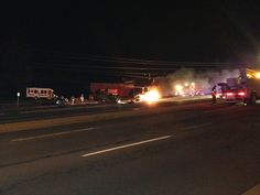 Car Hits Transformer, Causes Fire, Power Outage