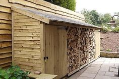 Log/Bin Store - Heavy Duty Bespoke Timber Log Store - Free Delivery and Assembly Timber Logs, Wood Logs, Fire Wood, Garden Structures, Outdoor Structures, Log Shed, Bin Store, Firewood Shed, Outdoor Projects