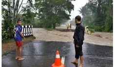 Banjir Bandang, Bangka Barat Terisolir, dan 3 Jembatan Putus