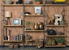 Shelf Iron Display Cabinet from Cuckooland
