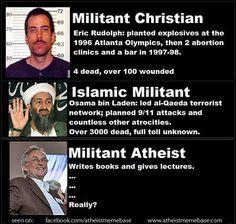 'Militant' Atheist
