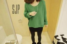 Winter Oversize Dolman Sleeve Women's Knitting Sweater on BuyTrends.com, only price $9.92