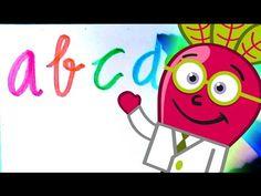 Aprende el #Abecedario en #minúsculas, en un #abc para #niños con el Doctor Beet en este vídeo educativo #infantil en #español. #Lectoescritura #caligrafia #recursos #aula