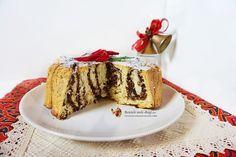 Cozonac cu nuci, alune si cacao Steluta de Craciun 1 Tiramisu, Cake, Ethnic Recipes, Desserts, Tailgate Desserts, Deserts, Kuchen, Postres, Dessert