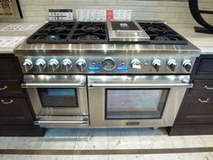 """Abt Appliances - Thermador Triple Fuel 48"""" range. Have to have it!"""