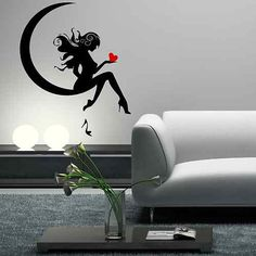 Asterisk Tooth Fairy Wall Sticker
