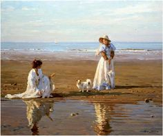 I'll tell you a story about the summer. Summer is born in a sunny svete..SOLNEChNY Impressionist YURI KROTOV .. Discussion on LiveInternet - Russian Service Online Diaries