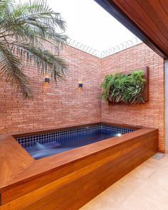 Swimming pools are places where people love to relax in and by. The different swimming pools that you will find … Small Backyard Pools, Backyard Pool Designs, Small Pools, Swimming Pools Backyard, Backyard Landscaping, Lap Pools, Indoor Pools, Pool Decks, Small Pool Design