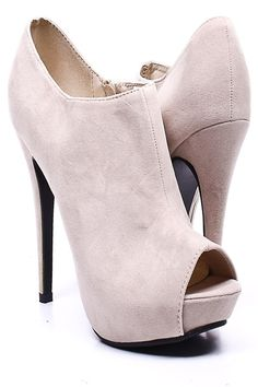 Got this in Black and i love it;)Peep toe heels
