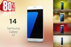 Bundle Samsung Galaxy s7 Mock Up by mockupstore.net on @creativemarket