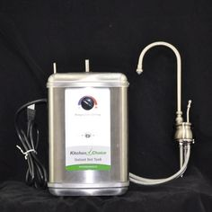 KitchenChoice Deck Mounted Premium Hot Water Dispenser Finish: Polished Nickel