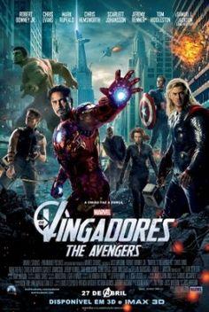 Os Vingadores  - Pena que nao fui Com meu amigos , assistir um dos maiores filmes do ano'