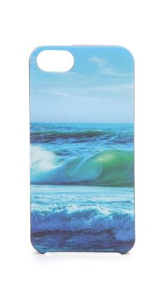 ocean waves iphone 5 case / juicy couture