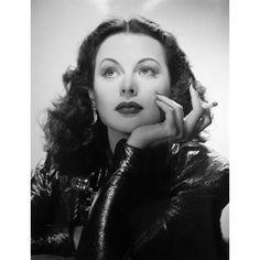 Hedy Lamarr Canvas Art - (16 x 20)
