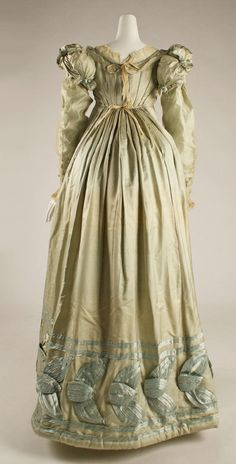 Dress ca. 1820 Fripperies and Fobs