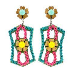 "SUGAR COOKIE ""STRUDEL"" EARRINGS - Jewelry - TARINA TARANTINO"
