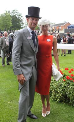 Horse Racing - The Royal Ascot Meeting 2012 -  Jessica Michibata and Jenson Button