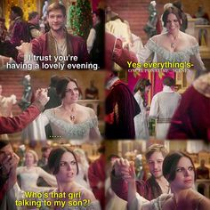 """Percival and Regina - 5 * 2 """"The Price"""".....I just crack up at Lana's face XD it's priceless"""