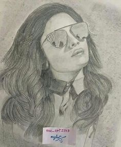 A Truly Stunning Pencil Sketch Of The Dazzling Stunner ALIA BHATT By Promising Artist NUZHAT SHEIKH!!