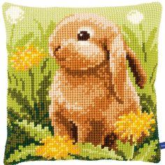 Little Hare - Kruissteekkussen - Vervaco
