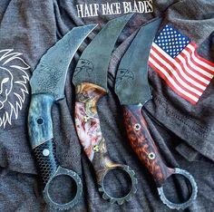 Half Face Blades