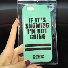 New PINK IPhone 6 case I am selling a brand new PINK IPhone 6 case. New in packaging. PINK Victoria's Secret Accessories Tablet Cases