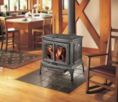 wood stove fire place | Wood Fireplaces