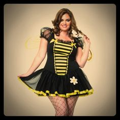 Plus size Sexy Bee Costume This is too cute!  And too small for me. Comes with wings and antennae! Other