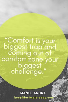 7 ways to break out of your comfort zone Love Me Quotes, Words Quotes, Quote Of The Day, Quotes To Live By, Life Quotes, Sayings, Comfort Zone Quotes, Out Of Comfort Zone, Keep Life Simple