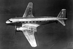 The production airliner delivered by Douglas was the DC-2, which began operations in July 1934.