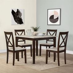 Found it at Wayfair - Tilley Rustic 5 Piece Dining Set