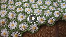 This crochet flowers blanket with daisy motif is wonderful. Usingit's gorgeous pattern, you can make this crochet flowers blanket in just a few hours.