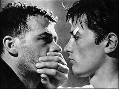 Alain Delon in Luchino Visconti. Rocco y sus hermanos. 1960