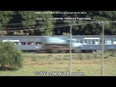 4 DVDs VIAGEM NO TREM DO PANTANAL Bauru /SP-Corumbá/MS e muito mais