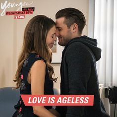 Yes, it is. Click to discover Sutton Foster and Nico Tortorella on the latest episodes of Younger on TV Land.