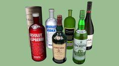 drink bottles - 3D Warehouse