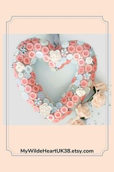 When words are not enough, Show how much you love her with this beautiful heart! Only one available so this is a truly unique and thoughtful gift #valentinesdaygift #valentine #engagementgift #bridesmaidgift