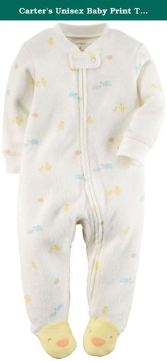 Carter's Unisex Baby Print Terry Footie (Baby) - Turtles - 6 Months. Carter's Print Terry Footie (Baby) - Turtles Carter's is the leading brand of children's clothing gifts and accessories in America selling more than 10 products for every child born in the U.S. Their designs are based on a heritage of quality and innovation that has earned them the trust of generations of families. Features Zips from ankle to chin. Worry-free safety tab. Character footie art.