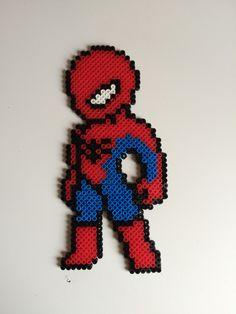 Hama beads Spiderman