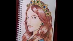 Hurrem Speed Drawing.