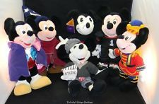 Mickey Mouse Plush Lot 75 years
